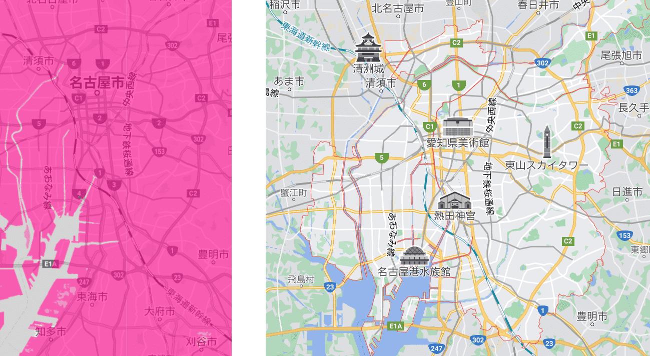 名古屋市の電波状況