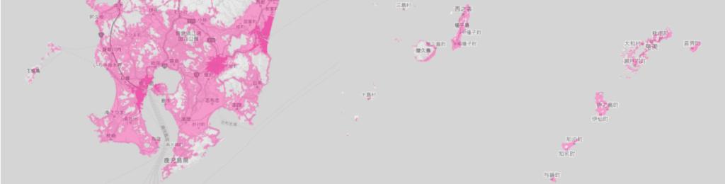 鹿児島県の電波状況