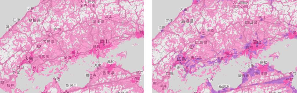 今後の広島県の電波状況