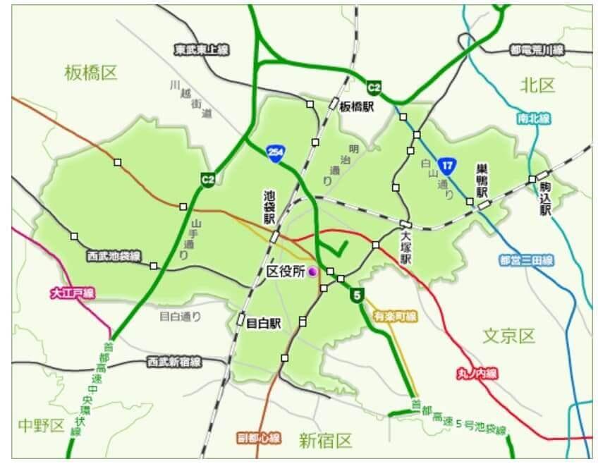 豊島区の電波状況